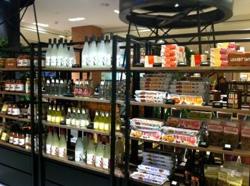 L'épicerie aux allures de loft new yorkais © JITMF