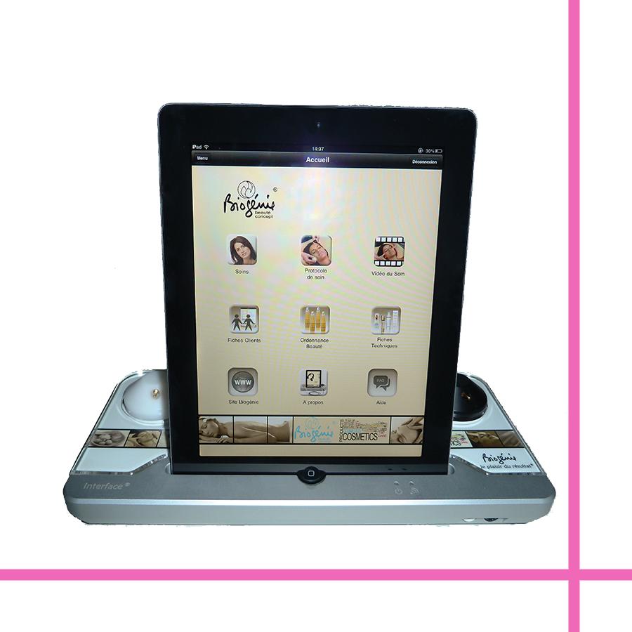 L'appareil Interface réalisé en partenariat avec Apple