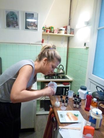 Making a matifying face cream. Step 7. © JITMF