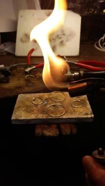 Les outils utilisés par Flavie dans son atelier. © JITMF