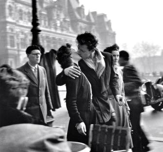 Le baiser de Doisneau