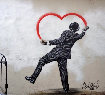 Street art par Nick Walker