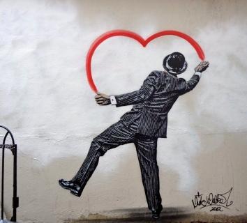 Street art par Nick Walker