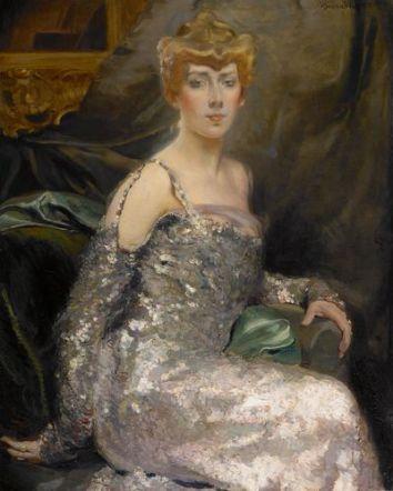 Portrait de la comtesse Maurice Pillet- Will, vers 1900-1905, huile sur toile, 101 x 82 cm.