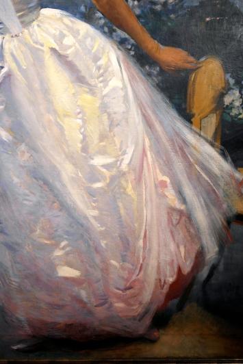 Détail du Portrait de madame Roger Jourdain, (1886 ou 1896) ©JITMF