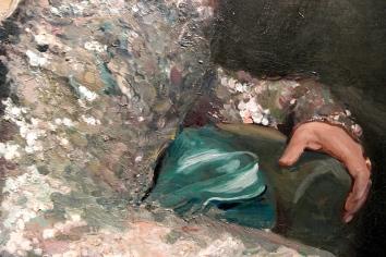 Détail du Portrait de la comtesse Maurice Pillet- Will ©JITMF