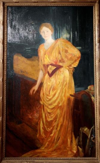 Portrait de Madame Bardet, 1893, huile sur toile, 202 x 118 cm.