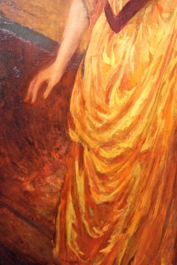 Détail du Portrait de Madame Bardet
