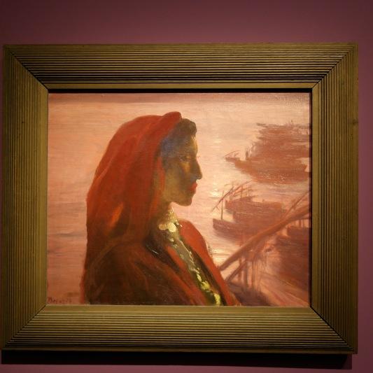 L'Algérienne (vers 1893) huile sur toile. ©JITMF